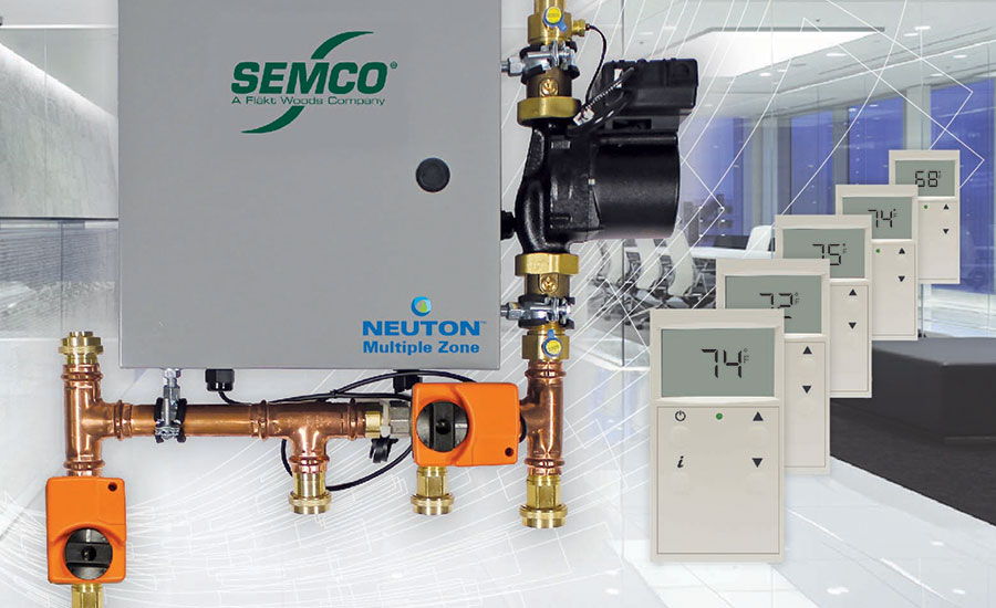 Semco updates chilled beam pump module