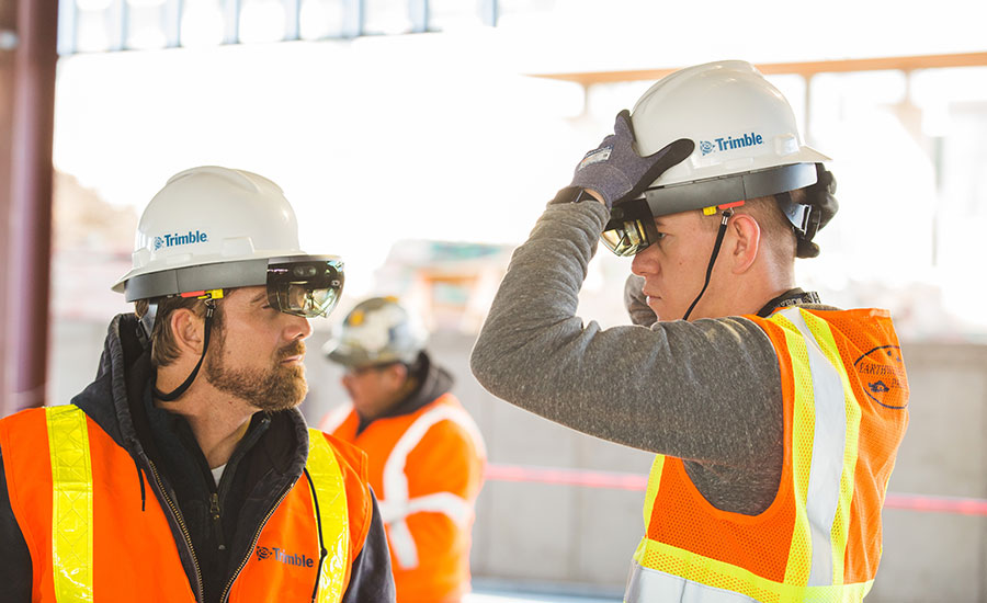 Trimble releases Connect for Hololens app and hard hat