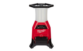 Milwaukee Tool expands line with radius Site Light