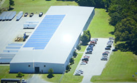 Hamlin's main sheet metal facility in Garner, North Carolina.