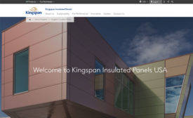Kingspan has redesigned its website.