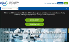 ASHRAE redesigned its website