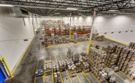 Beverage distribution center gets upgrades