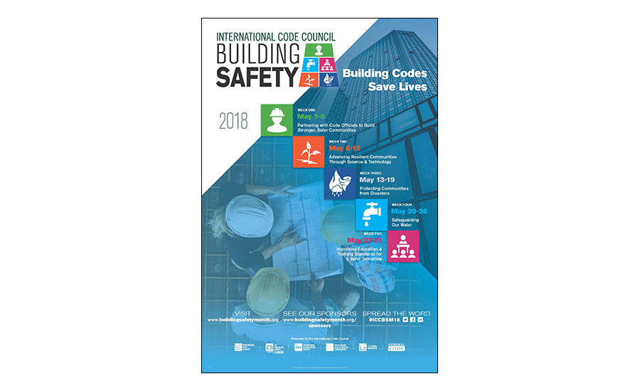 International Code Council announces safety month theme