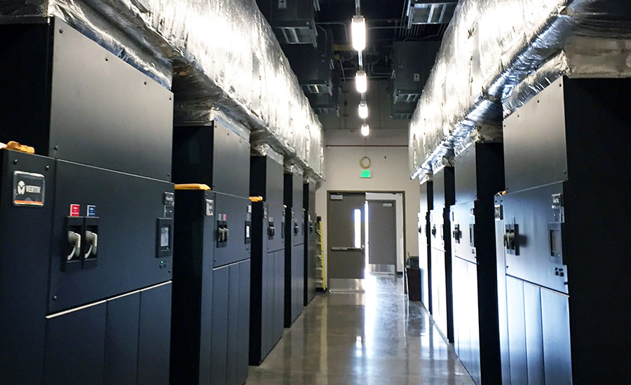 Data center combines fabric, sheet metal for efficient HVAC