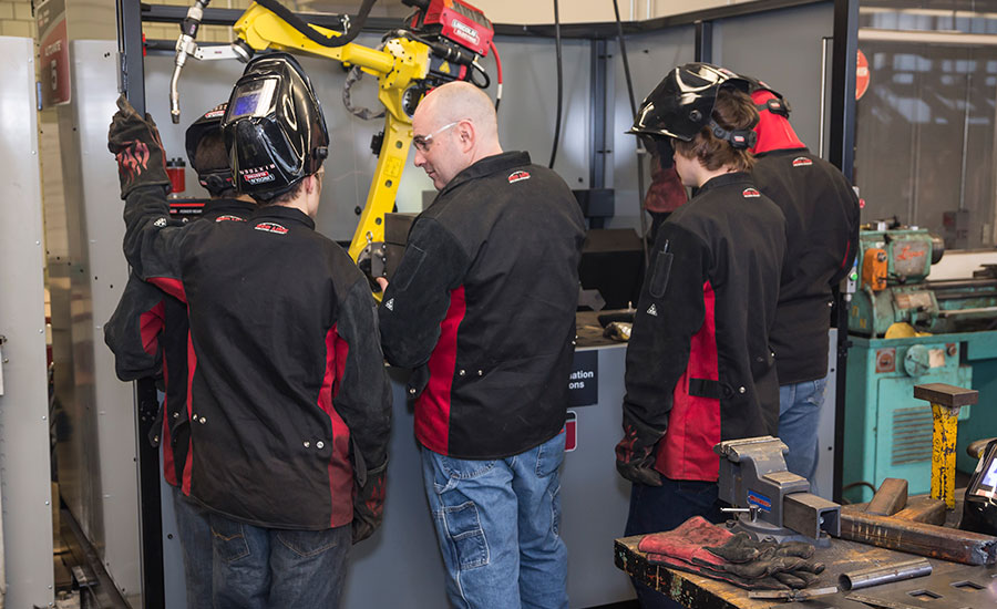 Lincoln Electric's new educational program is designed to assist welding instructors teach courses at all levels.