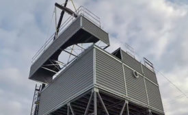 SPX Cooling Technologies Inc. offers counter flow cooling tower