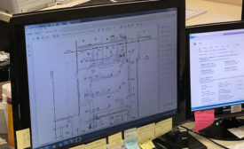 Cutting costs, reducing waste using CAD software.