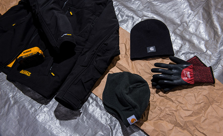 hats, coats, gloves