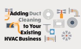 adding duct cleaning to your existing hvac business