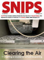 SNIPS October 2020 cover