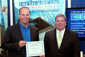 Southwestern HVAC Sales given Rep of the Year
