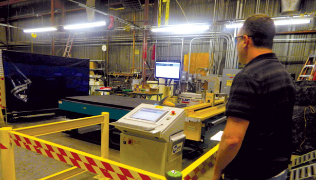 Sheet metal contractor boosts productivity with new fabrication equipment