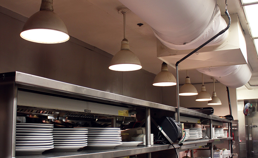 Duct Choice Helps Ensure Restaurant Stays Clean